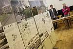 Výstava studentských prací zaměřených na dvě mšenské lokality.