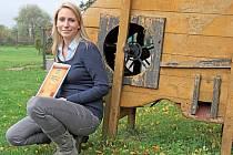 Provozní Rezidence Artemis Kateřina Maršálková má z vítězství radost.
