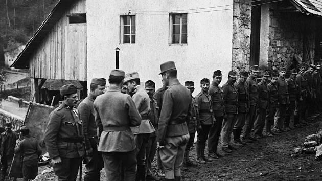 První světová válka objektivem českých vojáků.
