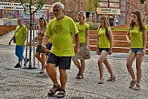 Pětidenní výuka tradičních židovských tanců pro téměř stovku účastníků probíhá v těchto dnech v Kralupech nad Vltavou. Akce vedená tanečními profesionály z Izraele potrvá do neděle 28. července.
