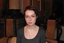 Mladá začínající návrhářka Veronika Němcová.