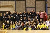 REPETE? Futsalisté Olympiku mohou napodobit tým, který postoupil do nejvyšší soutěže v sezoně 2007/2008.