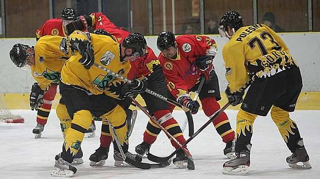 Mělničtí hokejisté vstupují do třetí části - play off.