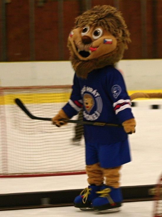Junior Mělník ve čtvrtek pořádal akci Týden hokeje.