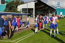 S odhodláním i úsměvem nastupovali fotbalisté mělnické Pšovky do domácího utkání s Luštěnicemi. Důvod ke spokojenosti měli i po devadesáti minutách - vyhráli 1:0.