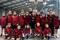 Mladší minižáci BK R&J EBC Mělník a BA Roudnice nad Labem vybojovali na pražském turnaji Easter Euro Basket druhou příčku.