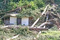 Vichřice napáchala největší škody na Kokořínsku.