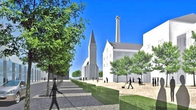 Plánovaná rekonstrukce, která má vycházet z návrhu firmy Satra Picek Architects,  změní  kralupské centrum k nepoznání.