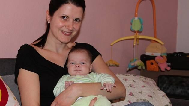 Matýsek Vidman dělá mamince Simoně jen samou radost.