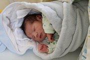 MATYÁŠ Vlk se rodičům Viktorii a Tomáši z Mělníka narodil 10. dubna 2017 v mělnické porodnici, vážil 3,62 kg a měřil 48 cm.