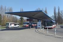 Rekonstrukce budovy autobusového terminálu se blíží ke konci.