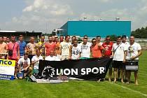 Účastníci čtvrtého ročníku Sinco cupu na Pšovce.