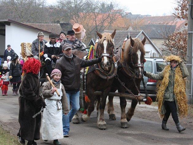 Muzejníci připravili pro obyvatele Centra seniorů Masopustní úterý.
