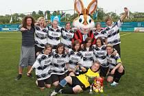 Fotbalistky FC Mělník na turnaji v Holandsku