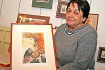 Akademická malířka a grafička Olga Vychodilová