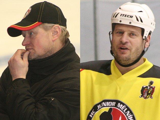Rostislav Příhonský jako trenér v HC Junior Mělník skončil. U A-týmu ho nahradil Jan Boháček.
