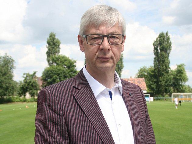 Jaroslav Bureš, vedoucí mužstva Sokola Záryby