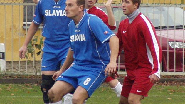 Velký Borek (v modrém) - Liběchov 2-0