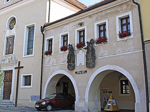 Regionální muzeum Mělník.
