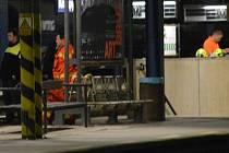 Noční neštěstí na kralupském nádraží.