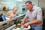 V lednu roku 2018 otevřel Santo Pagana svou první restauraci Ristorante Santo v Mělníku v Okružní ulici. Nejdříve pendloval mezi Prahou a Mělníkem, ale za pár měsíců tu poznal svou přítelkyni a do Mělníka se trvale přestěhoval.