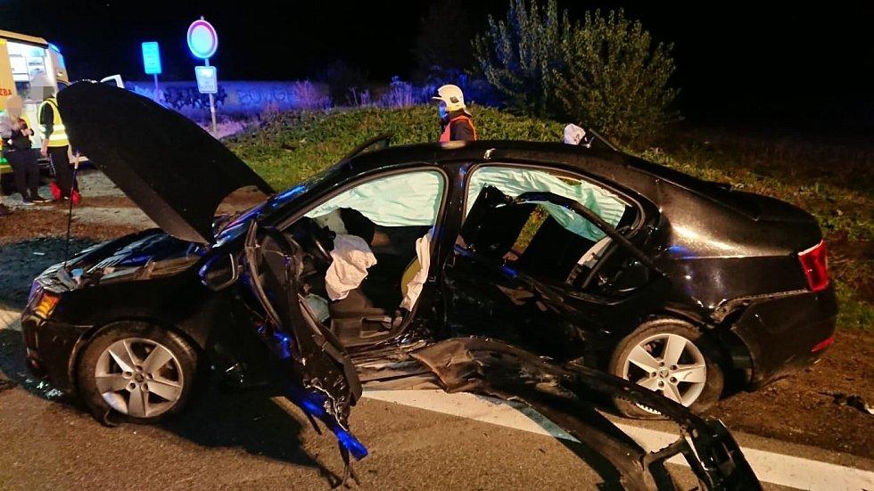 Nehoda u Kojetic.