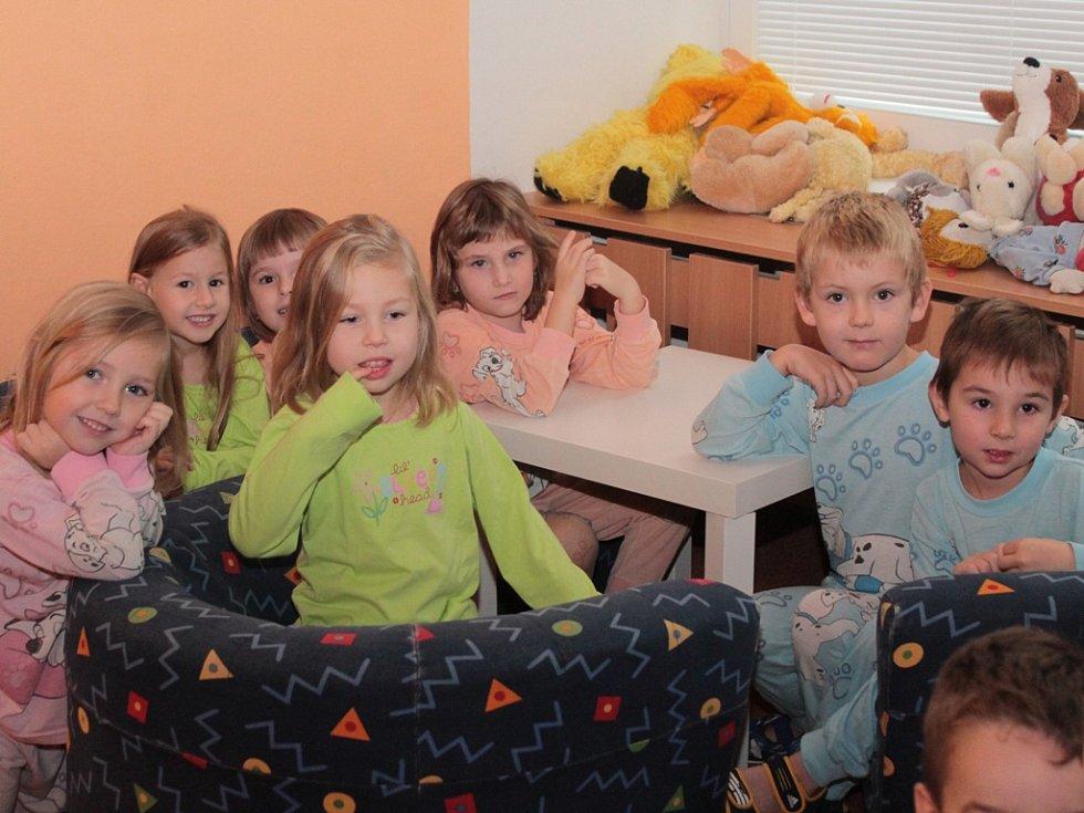 Pepa Melen navštívil mateřskou školu Sluníčko v Neratovicích.
