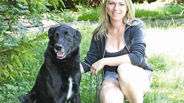 Pes nalezený na Harasově byl po dobu svého pobytu v útulku podle Jaroslavy Tiché trochu smutný, chyběl mu jeho páníček.