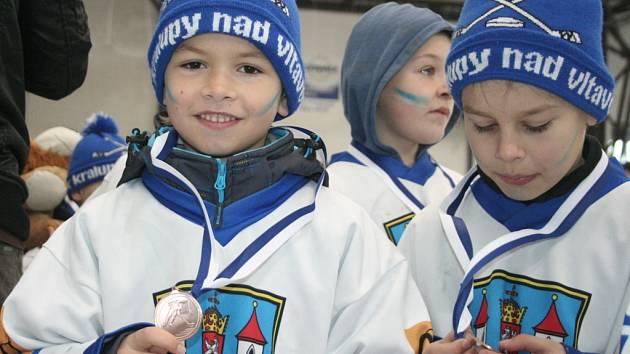 Mikulášský turnaj hokejových přípravek v Kralupech