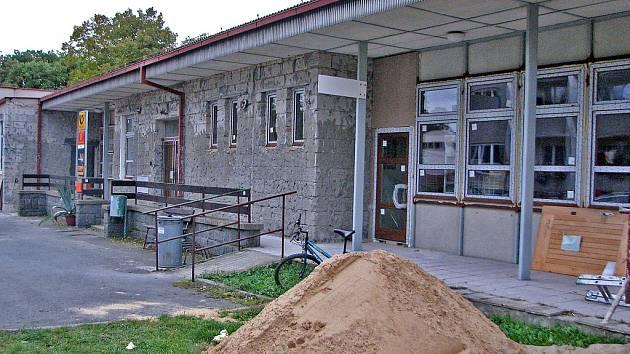 Probíhající rekonstrukce zdravotního střediska