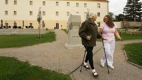 Domov pro seniory Senlife v Mělníku.