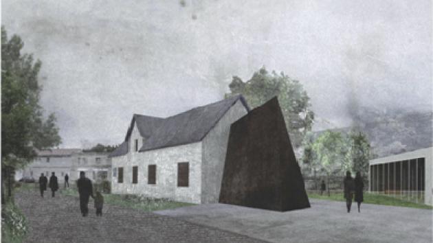 Vítězný návrh památníku. Poprvé se návštěvníkům otevře 21. srpna letošního roku.