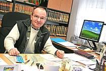 Ředitel Státního okresního archivu v Mělníku Dalibor Státník
