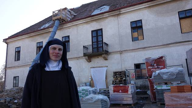 V Drastech vzniká nový klášter bosých karmelitek. Bude otevřený pro ty, kteří chtějí nabrat síly a strávit čas v tichu