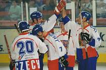 Kralupy hostily v roce 2000 první hokejbalové mistrovství světa juniorů.