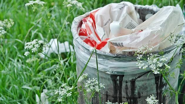 Odpady ilustrační