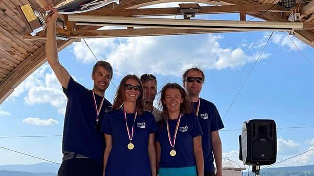 Vítězný tým YC Neratovice