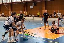 Kralupští florbalisté překonali ve svém prvním utkání v regionální lize jedenáctkrát brankáře Sokola Nebušice Jana Fišera.