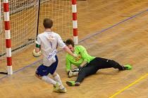 Futsalisté Olympiku Mělník zdolali na úvod ligy Liberec, dvěma góly přispěl i staronový lídr Jiří Vokoun.