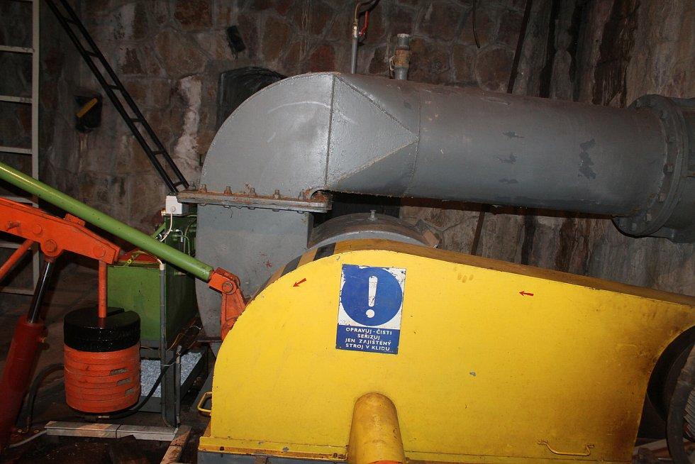Malá vodní elektrárna - Zdymadlo Hořín.