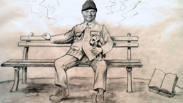 Polovina částky na sochu umožní požádat hereckou rodinu Hrušínských, aby skulptura měla tvář Rudolfa Hrušínského.