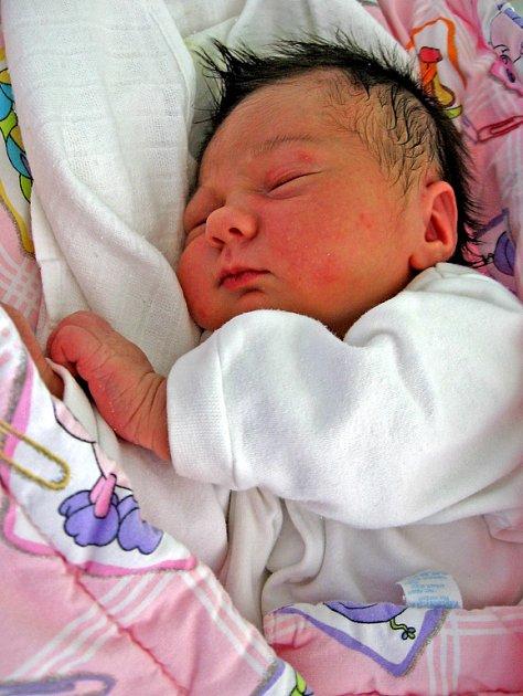 Monika Košťálová se rodičům Heleně a Janovi z Neratovic narodila 19. října 2008, vážila 3,55 kg a měřila 50 cm.