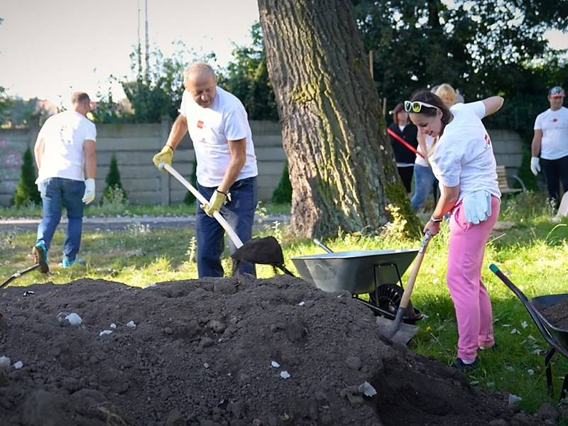 Dobrovolnický den skupiny ORLEN Unipetrol v Neratovicích.