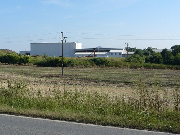 Dřevoplynová elektrárna v Kozomíně.