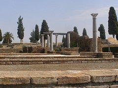 Iltalica, pozůstatky antického města.