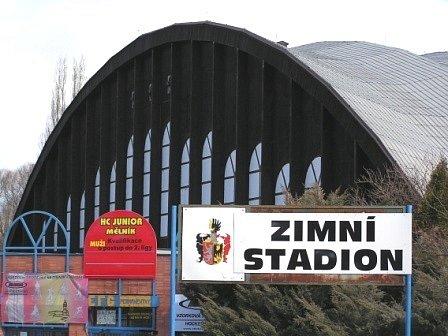 Zimní stadion Mělník.