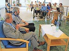 Otto Seidler vyprávěl o útrapách za války mšenským seniorům.