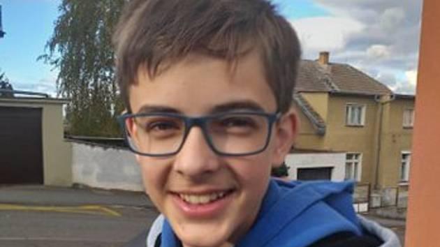 Vojtovi je 13 let a logické olympiády se zúčastnil letos podruhé.