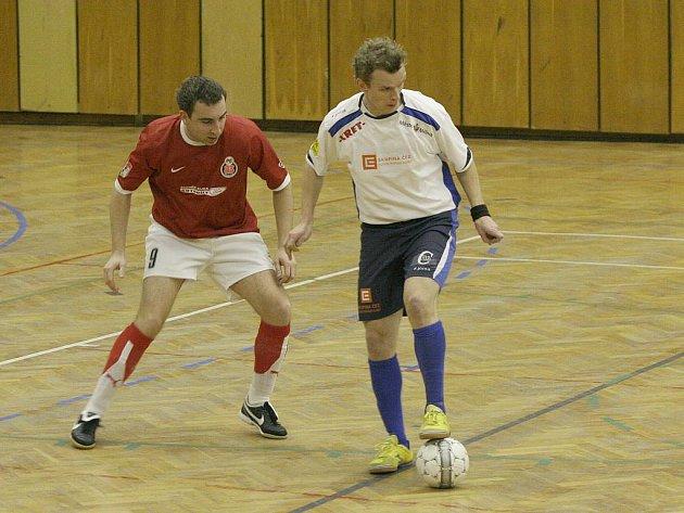 2. liga Západ: Olympik Mělník - FC 83 Příbram 10:7