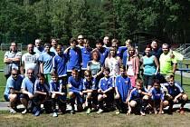 Starší žáci Pšovky Mělník se představili v Holicích.